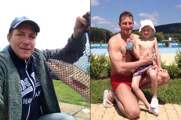 Németh Kristóféknál a sporthorgászat apáról fiúra szálló szenvedély.